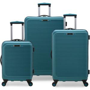 Elite Sunshine 3-Pc. Hardside Spinner Luggage Set, Teal