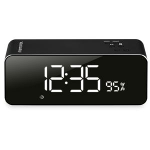 Bluetooth Aluminum Alarm Clock Radio