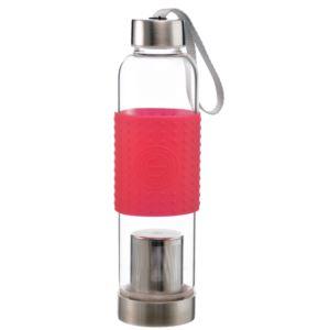 Marino Tea Infuser Bottle, Red