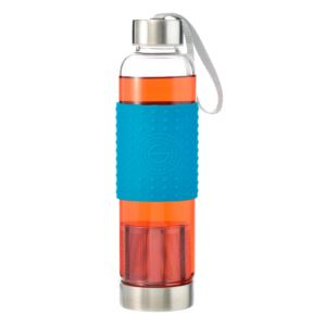 Marino Tea Infuser Bottle, Blue