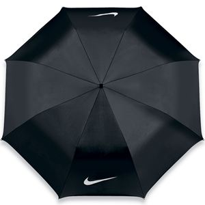 Nike 42 inch Single Canopy Collapsible Umbrella - Black/White-