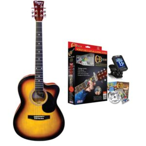 Perry Youth Cutaway Acoustic Guitar Combo