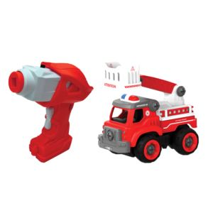 Fire Squad Truck - Build It Yourself w/ Remote Control Ages 3+ Years