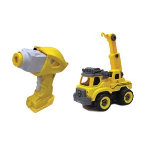 Big Job Truck - Build It Yourself w/ Remote Control Ages 3+ Years