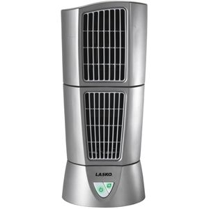 Desktop Wind Tower Fan - Platinum