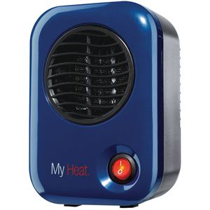 MyHeat 200W Personal Ceramic Heater - Blue