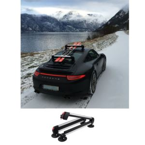 Ski Rack Locking carrier for skis and snow boards