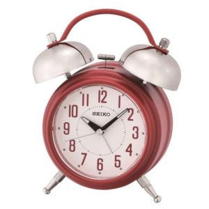 "7"" Traditional Dual Bell Alarm with Snooze"", Dial & Light"