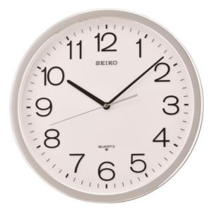 Classic Numbered Quiet Sweep Wall Clock
