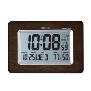Everything Digital R WAVE Clock - Brown