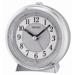 "4"" Elegant Alarm with Quiet-Sweep"", Dial Light, Beep & Snooze"