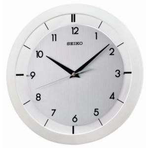 "11"" Brushed Metal Wall Clock"