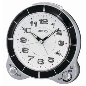 """5"""" Modern Dial Alarm with Beep/Bell & Snooze"""