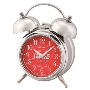 LIMITED EDITION Deux Bell Alarm Clock by Coca-Cola