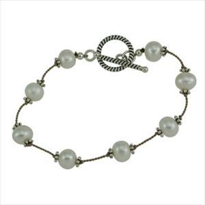 """Pearl By The Yard"" Fashion Bracelet"