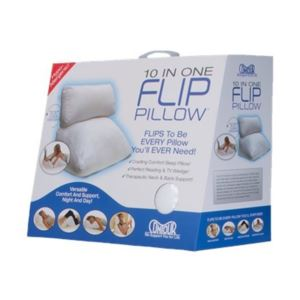 Flip Pillow - (White)