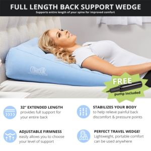 2 In 1 Back Relief Wedge - (10 - Inch)