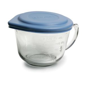 2 qt. Batter Bowl w/ Blue Plastic Lid