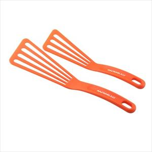 2-Piece Nylon Turner Set - (Orange)