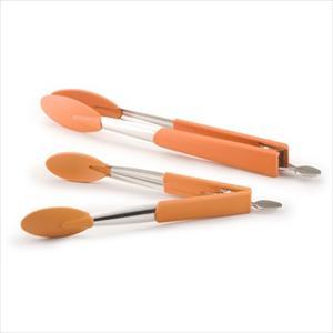 2-Piece Tong Set - (Orange)
