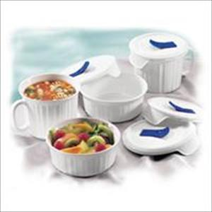 French White 8-Pc Mug/Bowl Set