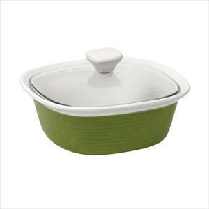 Etch 1.5-Qt Covered Casserole (Green)