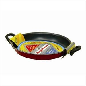 "Praga Porcelain on Steel 12"" Paella Pan"
