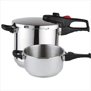 Stainless 4&6 Qt. Super Pressure Cookers