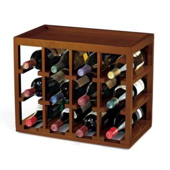 Tresanti Espresso Colored Meridian Dual Zone Wood Wine