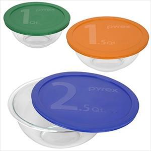 Smart Essentials 6-Pc Mixing Bowl Set